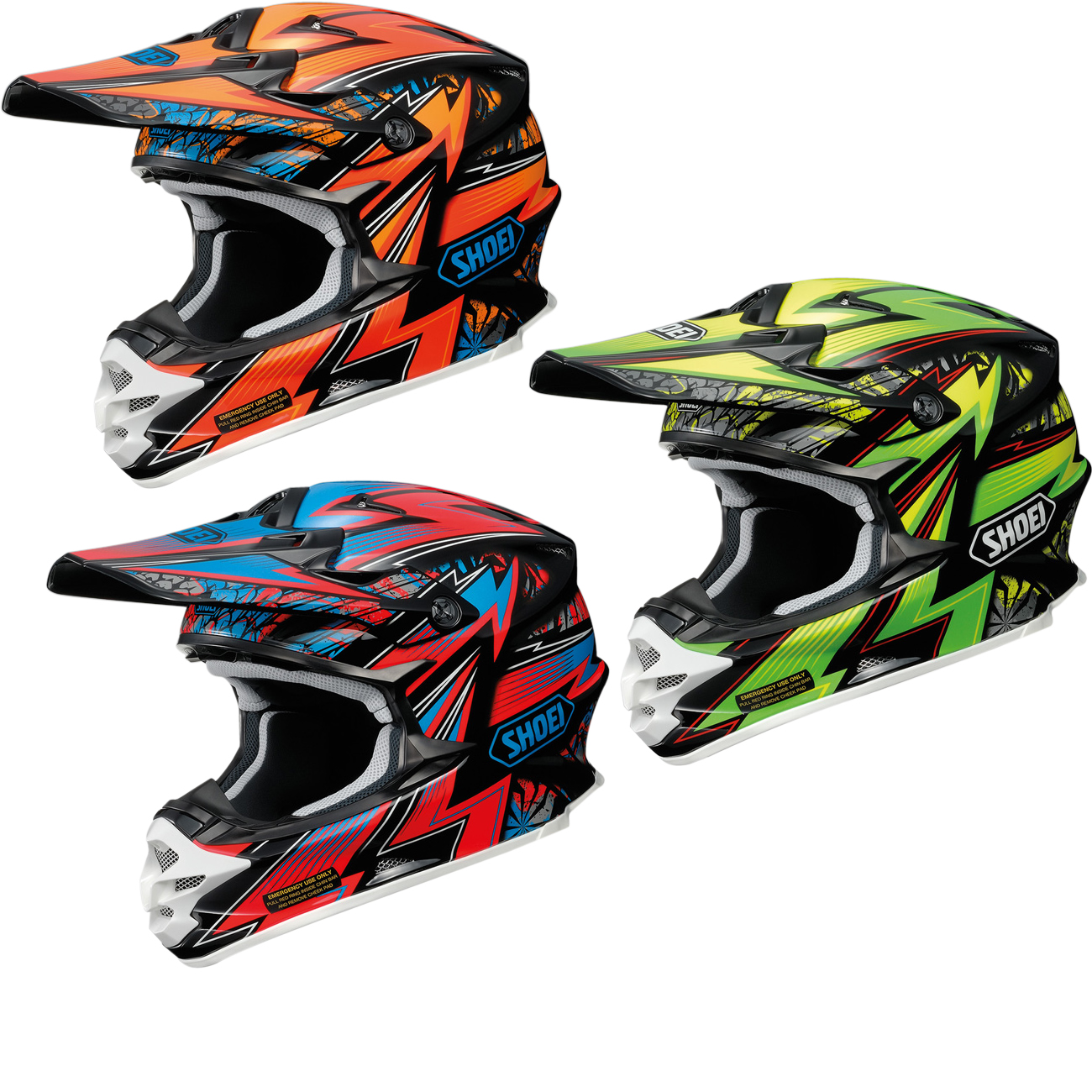 shoei vfx w maelstrom motocross helmet motocross helmets. Black Bedroom Furniture Sets. Home Design Ideas