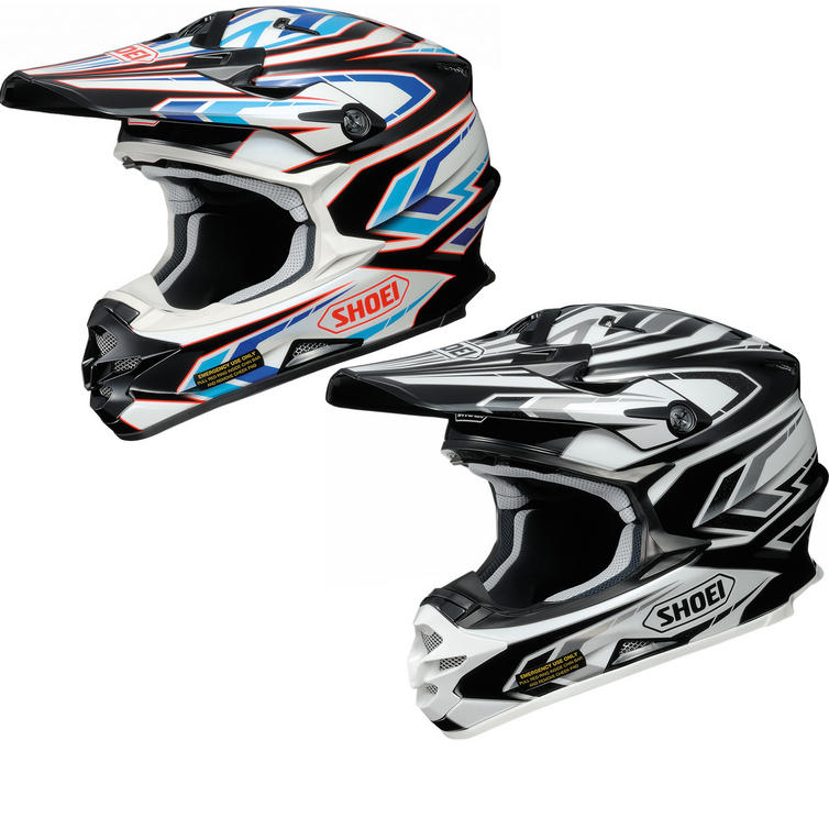 Shoei VFX-W Blockpass Motocross Helmet