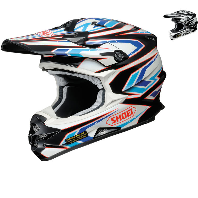 Shoei VFX-W Blockpass Motocross Helmet