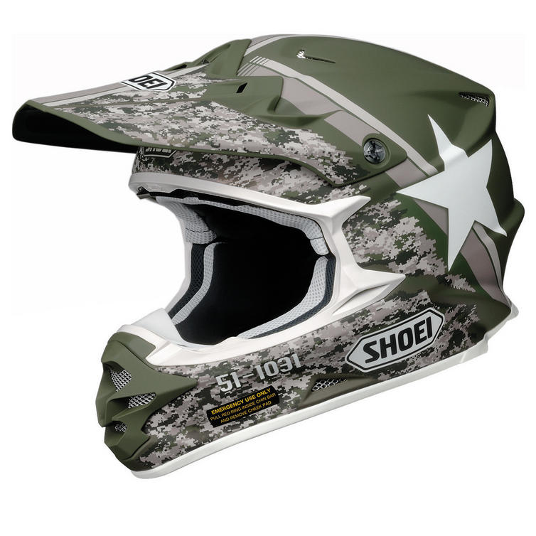 Shoei VFX-W Super Hue Motocross Helmet
