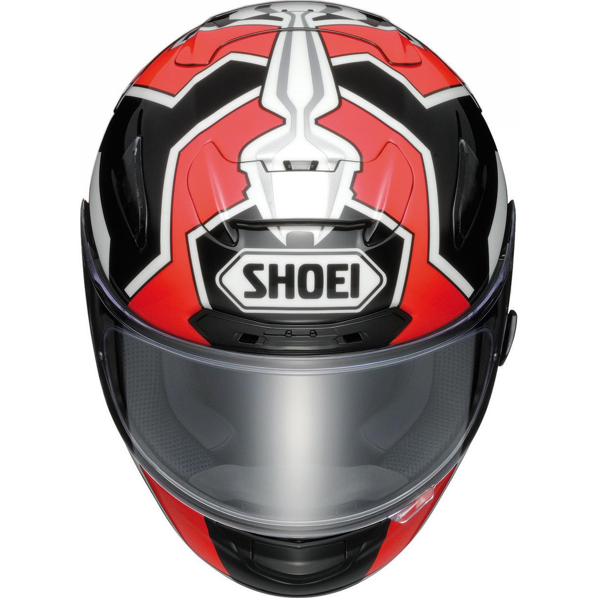 shoei x spirit 2 marquez 2 black white red motorcycle helmet tc 1 acu full face ebay. Black Bedroom Furniture Sets. Home Design Ideas