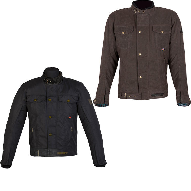 Spada Union Wax Textile Motorcycle Jacket
