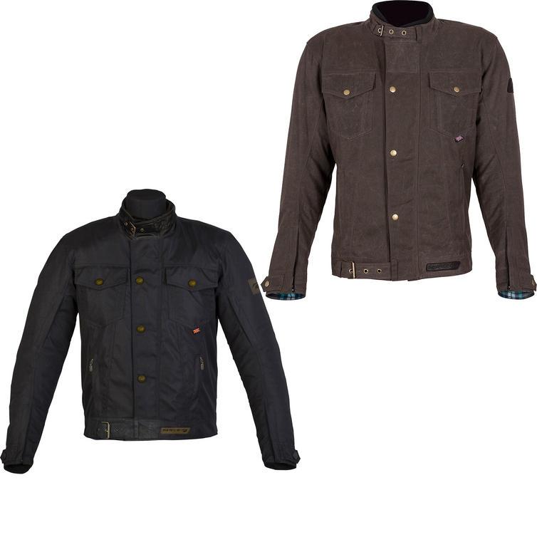 Spada Union Wax Textile Motorcycle Jacket