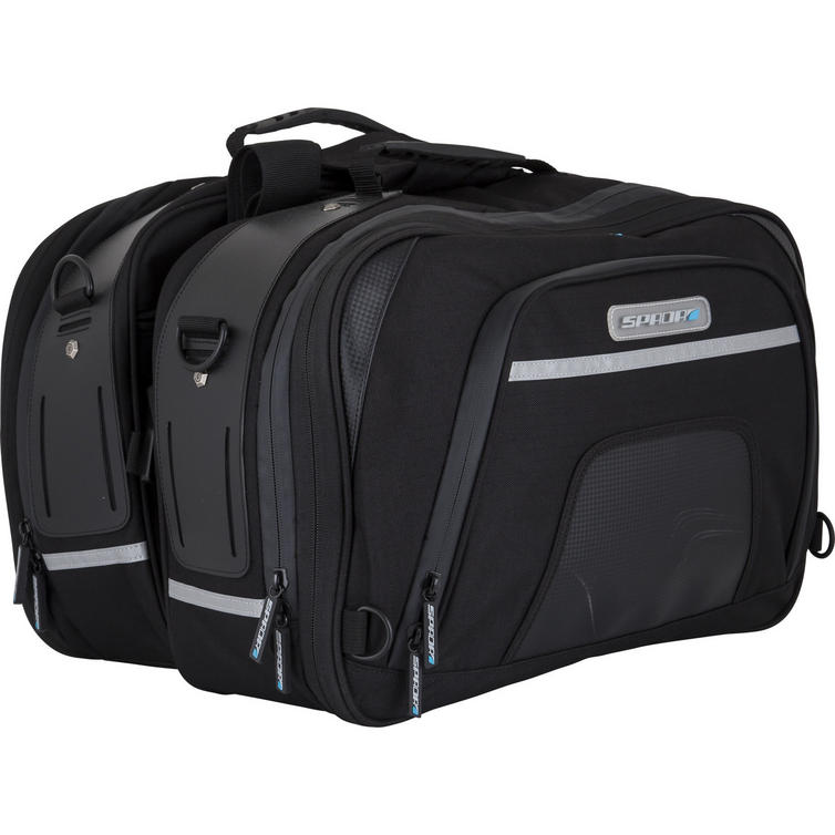Spada Expandable Touring Motorcycle Panniers