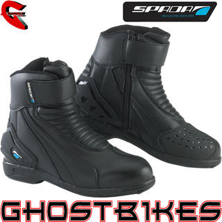 View Item Spada Icon Waterproof Short Motorcycle Boots