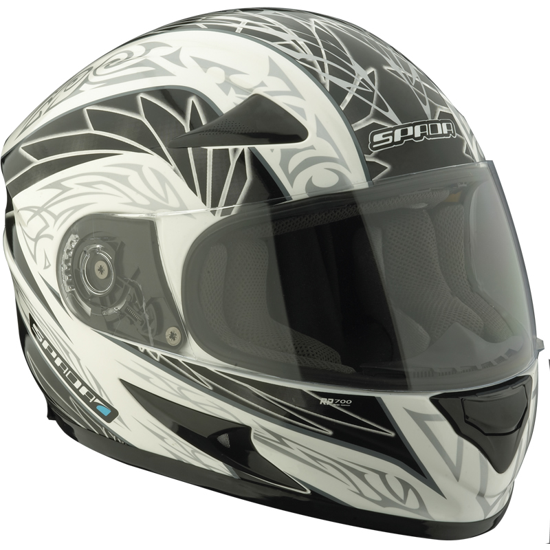 SPADA RP700 INTRO MOTORRAD INTEGRAL RENNSPORT STRA?EN HELM WEIß 59-60 cm L Enlarged Preview