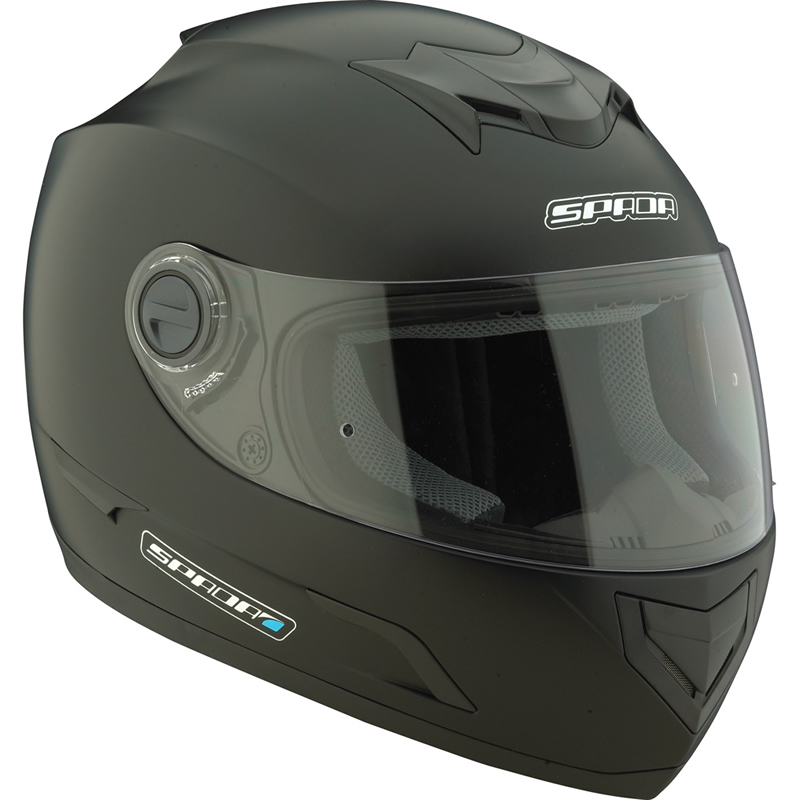 SPADA STEALTH MOTORRAD INTEGRAL RENNSPORT STRA?EN HELM Schwarz 59-60 cm L Enlarged Preview