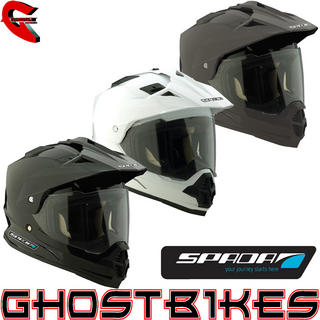 View Item Spada Sting Dual Sport Motorcycle Helmet
