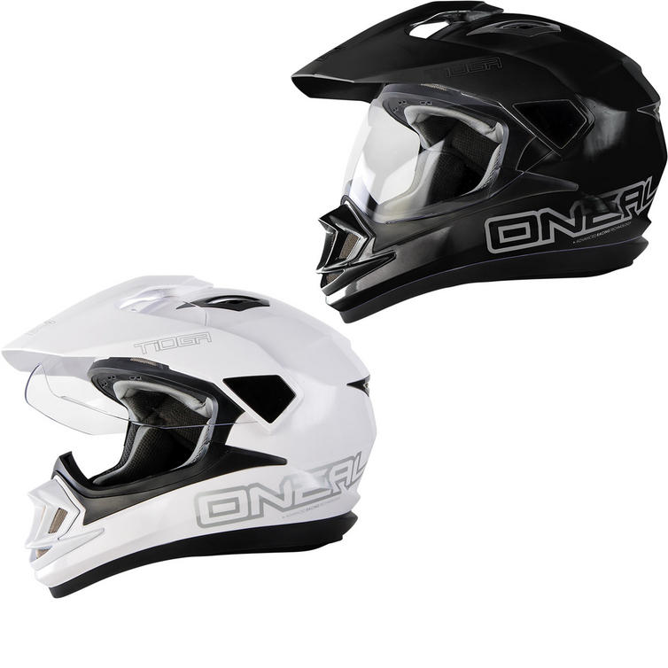Oneal Tioga Solid Dual Sport Helmet
