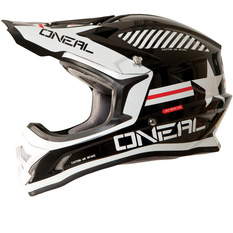 Oneal 3 Series Afterburner Motocross Helmet