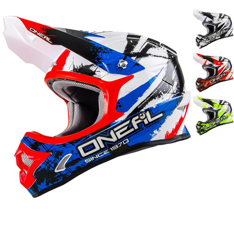 Oneal 3 Series Shocker Motocross Helmet