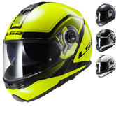 LS2 FF325 Strobe Civik Motorcycle Helmet