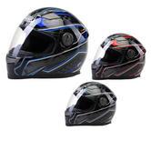 Viper RS222 Tension Full Face Motorcycle Gloss Helmet