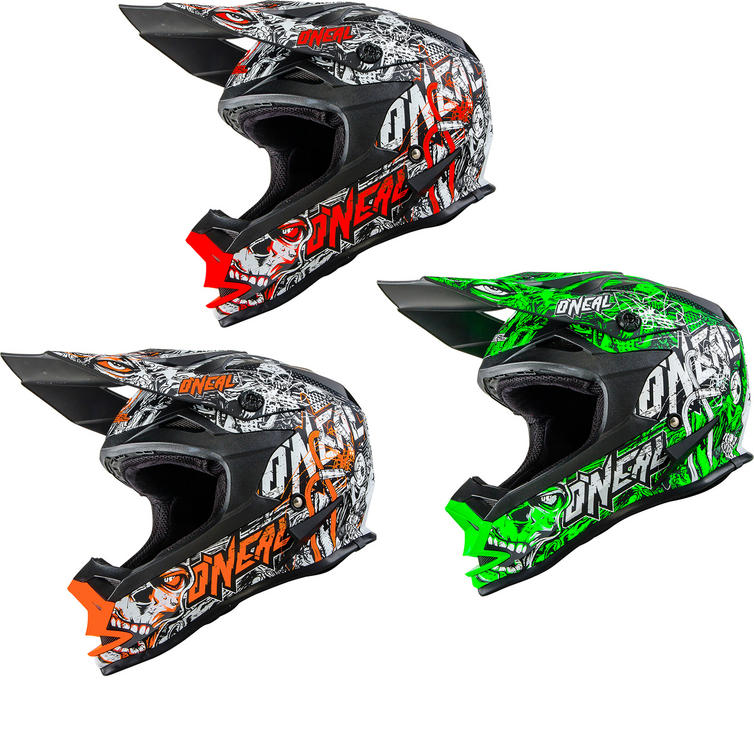 Oneal 7 Series EVO Menace Motocross Helmet