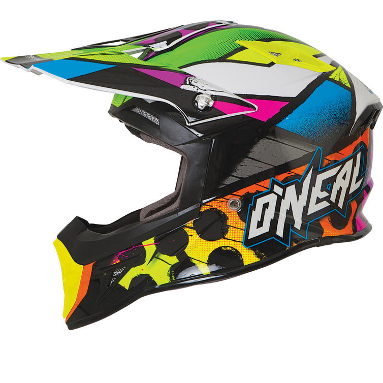 Oneal 10 Series Glitch Motocross Helmet
