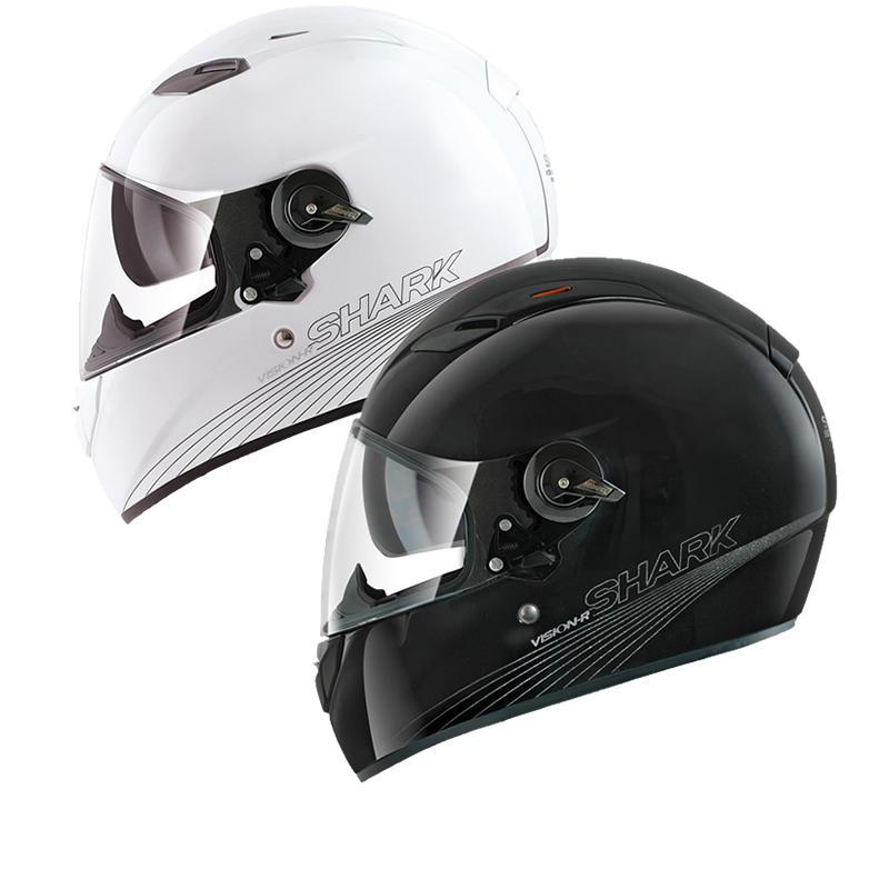 Shark Vision-R Blank Motorcycle Helmet