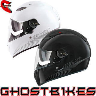 View Item Shark Vision-R Blank Motorcycle Helmet