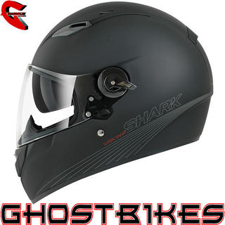 View Item Shark Vision-R Blank Mat Motorcycle Helmet
