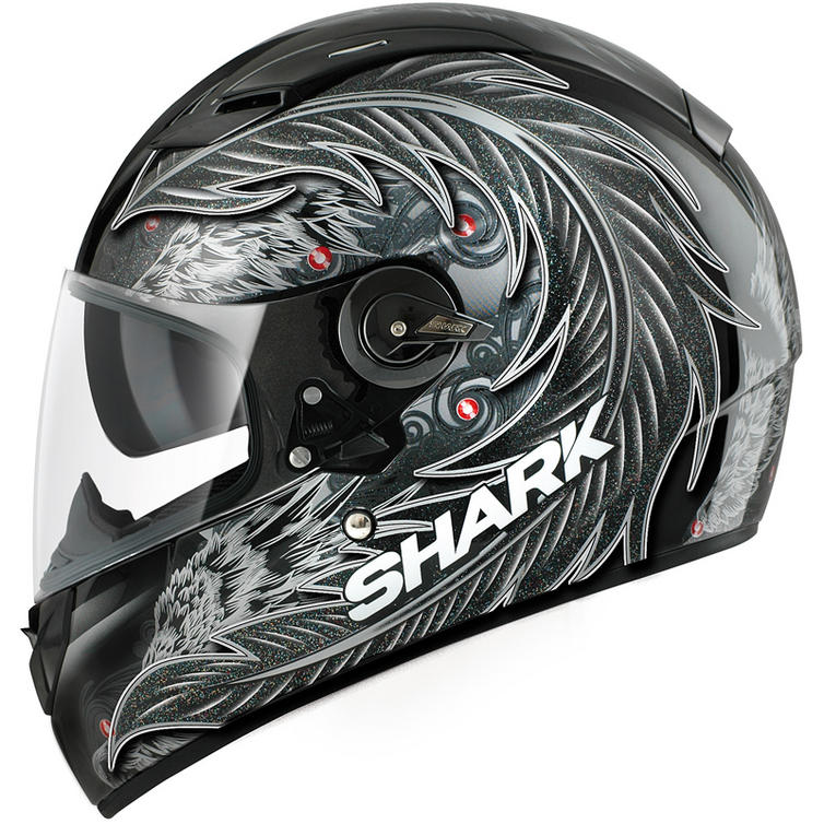 shark vision r myth motorcycle helmet full face helmets. Black Bedroom Furniture Sets. Home Design Ideas