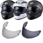 THH TS-80 Plain Full Face Helmet Tinted Visor Kit