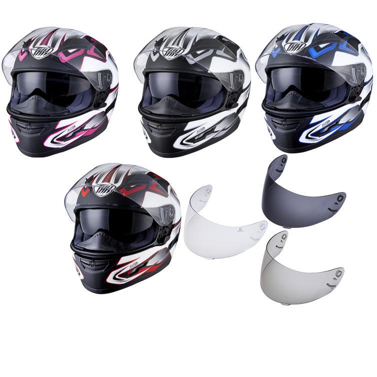 THH TS-80 #4 Full Face Helmet & Visor Kit