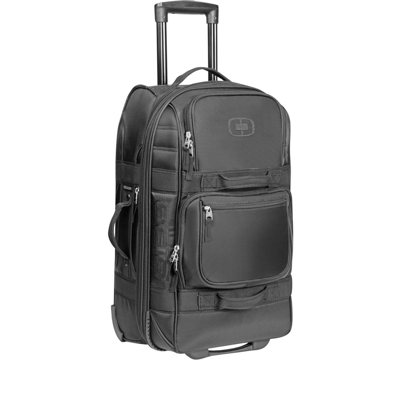 ogio layover stealth wheeled travel bag holdalls
