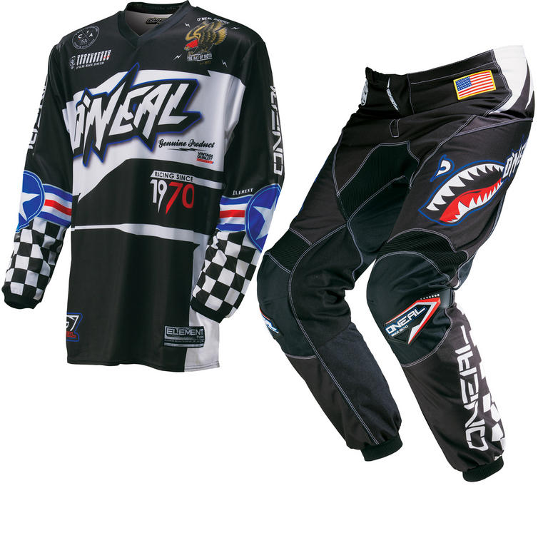 Oneal Element Kids 2016 Afterburner Motocross Kit