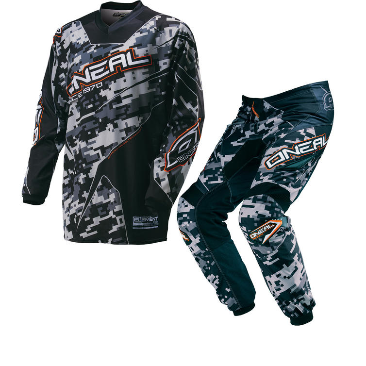 Oneal Element Kids 2016 Digi Camo Motocross Kit