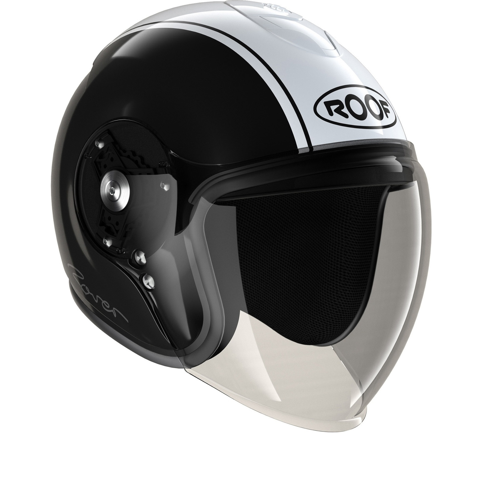 Roof Rover Classic Open Face Motorcycle Helmet Amp Visor