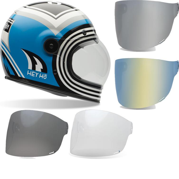 Bell Bullitt SE Barn Fresh Motorcycle Helmet & Black Tab Flat Visor
