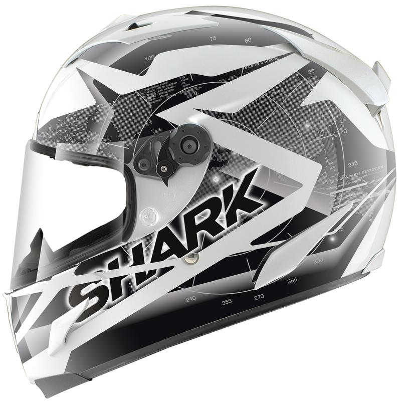 SHARK RACE R PRO KUNDO LIGHTWEIGHT RACING FULL FACE MOTORCYCLE CRASH