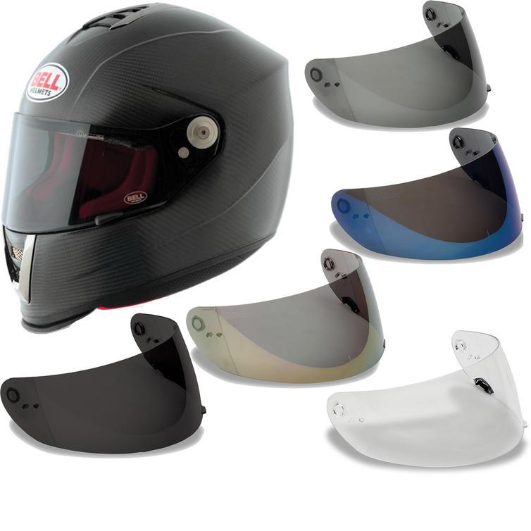 Bell M6 Carbon Solid Matte Motorcycle Helmet & Visor