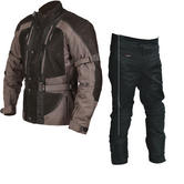 Buffalo Endurance Motorcycle Jacket & Trousers Gunmetal Black Kit