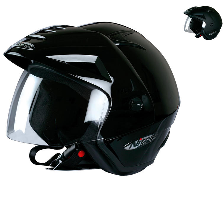 Nitro X512-V Open Face Motorcycle Helmet
