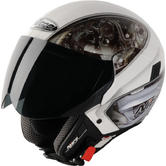 View Item Nitro NGJP Mechanika Open Face Motorcycle Helmet
