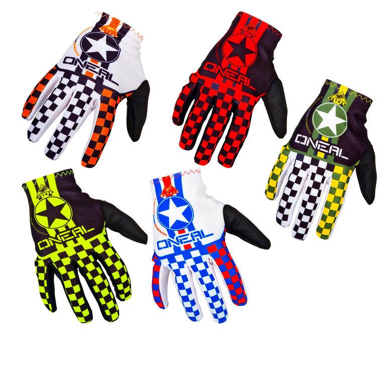Oneal Matrix Wingman Kids 2016 Motocross Gloves
