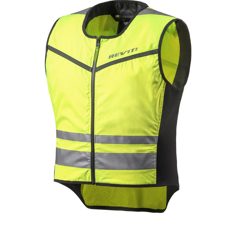 Rev It Athos 2 Hi-Vis Motorcycle Over Vest
