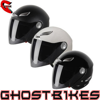Nitro Mix Tape Open Face Motorcycle Helmet