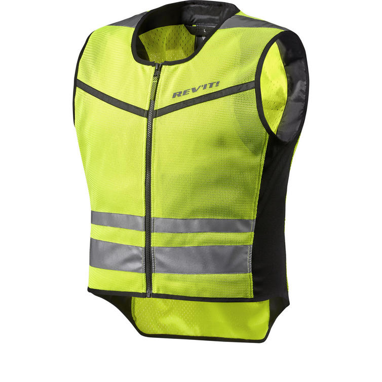 Rev It Athos Air 2 Hi-Vis Motorcycle Over Vest