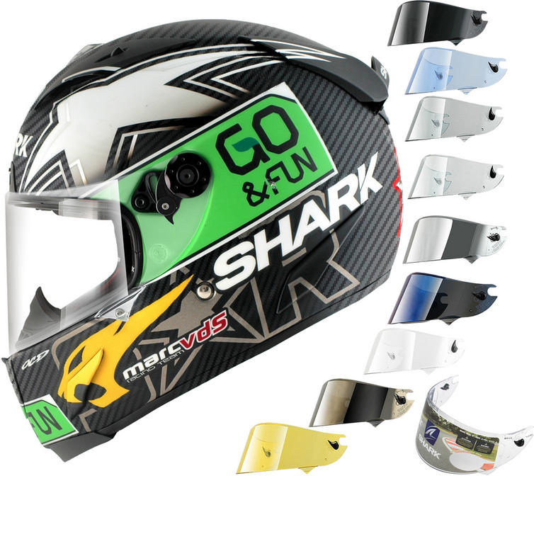 Shark Race-R Pro Carbon Redding Go & Fun Motorcycle Helmet & Visor
