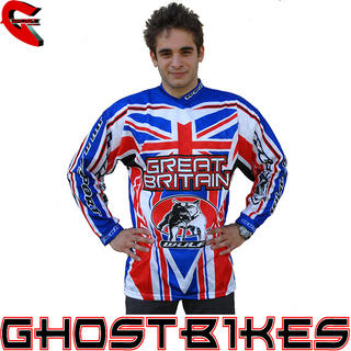 View Item Wulf GB Motocross Jersey