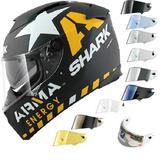 Shark Speed-R Redding Carbon Motorcycle Helmet & Visor