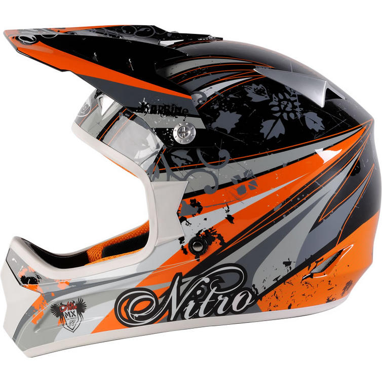Nitro karbine motocross helmet motocross helmets ghostbikes com