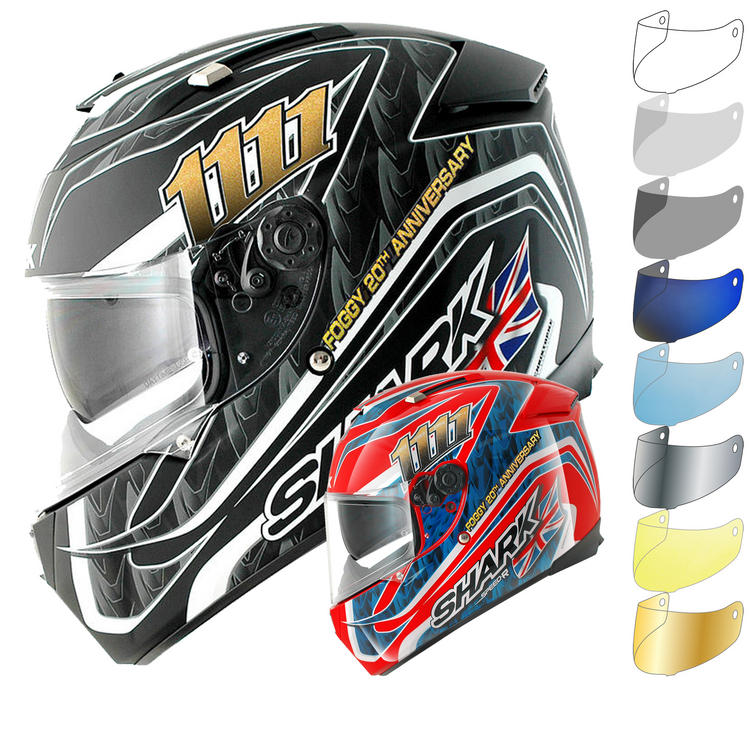 Shark Speed-R Foggy 20th Motorcycle Helmet & Visor