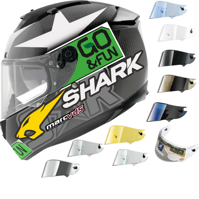 Shark Race-R Pro Carbon Redding Go & Fun Motorcycle Helmet & Visor