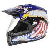 View Item Nitro MX453 Eagle Supermoto MX Helmet