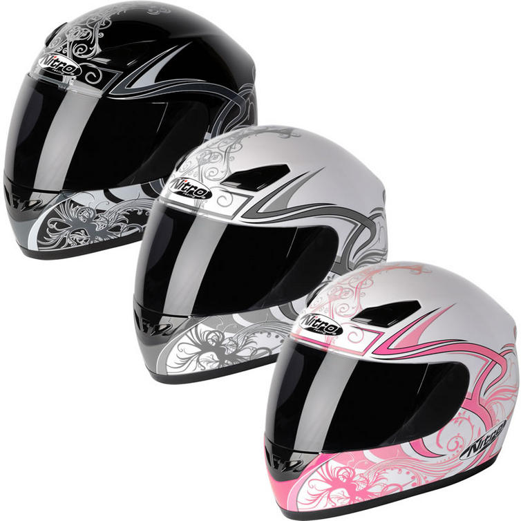 Nitro Dynamo Ladies Motorcycle Helmet