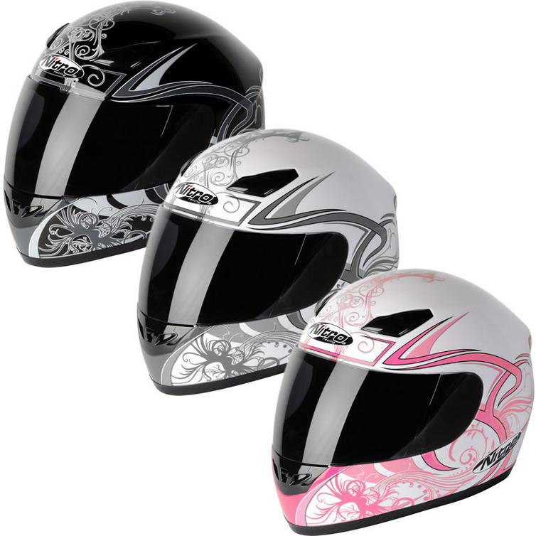 Nitro Dynamo Ladies Motorcycle Helmet