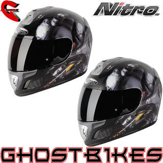 View Item Nitro NGFP Panther Motorcycle Crash Helmet