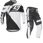 Fly Racing 2016 F-16 Black White Motocross Kit